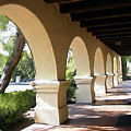 The Arches Mission Santa Ines by Kurt Van Wagner