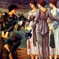 The Arming Of Perseus 1885 by BurneJones Edward