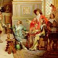 The Arrival Of D'artagnan by Alex de Andreis