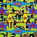 The Arts Of Textile Designs #28 by Mbonu Emerem
