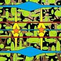 The Arts Of Textile Designs #3 by Mbonu Emerem