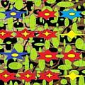 The Arts Of Textile Designs #42 by Mbonu Emerem