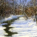 The Assabet River In Winter by Jack Skinner