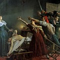 The Assassination Of Marat by Jean Joseph Weerts