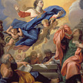 The Assumption Of The Virgin by Guillaume Courtois