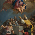 The Assumption Of The Virgin by Jacopo Amigoni