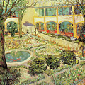 The Asylum Garden at Arles by Vincent van Gogh