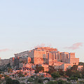 The Athens Accropolis At Sunset by Susan Vineyard