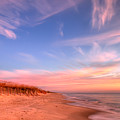 The Atlantic Coast At Sunrise by Rich Leighton