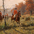 The Autumn Hunt by Mountain Dreams