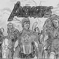 The Avengers by Chris  DelVecchio