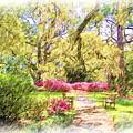 The Azalea Garden by Janet Pugh