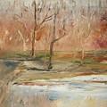 The Back Field Creek by Edward Wolverton