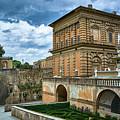 The Back Of The Pitti Palace In Florence by Eduardo Jose Accorinti