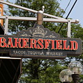 The Bakersfield Sign by Jeff Roney