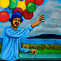 The Balloon Vendor by Cyril Maza
