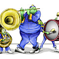 The Band Plays On by Keith Naquin
