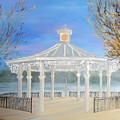 The Bandstand Basingstoke War Memorial Park by Karen Jane Jones
