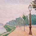 The Banks Of The Seine At Neuilly 1886 by DuboisPillet Albert