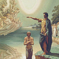 The Baptism Of Christ by Grigori Grigorevich Gagarin