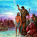 The Baptism Of Jesus by John Lautermilch