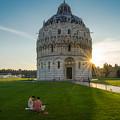 The Baptistery, Piazza Dei Miracoli by Roelof Nijholt