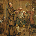 The Barber by Marcellus Laroon the Younger