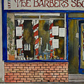 The Barber Shop by Victoria Heryet