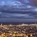 The Barcelona City Skyline, Spain by David Ortega Baglietto