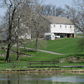 The Barn Along The Tulpehocken by Donna Brown