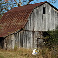 The Barn By The Road by Mike Stanfield