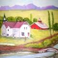 The Barn by Gloria M Apfel