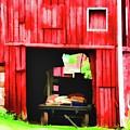 The Barn Wagon by John Feiser