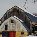 The Barn With A Red Door by Deborah Smolinske