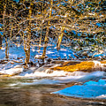The Basin At Franconia Notch by Claudia M Photography