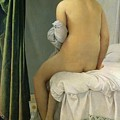 The Bather by Jean Auguste Dominique Ingres