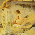 The Bathers by Anders Leonard Zorn