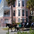The Battery In Charleston by Susanne Van Hulst