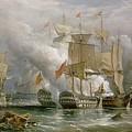 The Battle Of Cape St Vincent by Richard Bridges Beechey