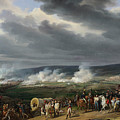 The Battle Of Jemappes by Emile-Jean-Horace Vernet