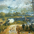 The Battle Of Kenesaw Mountain by American School