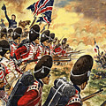 The Battle Of Waterloo by Peter Jackson