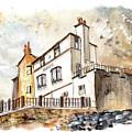 The Bay Hotel In Robin Hoods Bay by Miki De Goodaboom