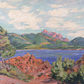 The Bay Of Agay by Jean Baptiste Armand Guillaumin