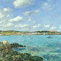 The Bay Of Douarnenez by Eugene Louis Boudin