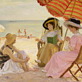 The Beach by Alfred Victor Fournier