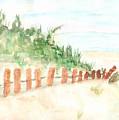 The Beach by Anne Gitto