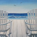 The Beach Chairs by Elizabeth Robinette Tyndall