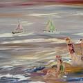 The Beach by Edward Wolverton