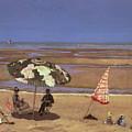 The Beach by Etienne Moreau Nelaton